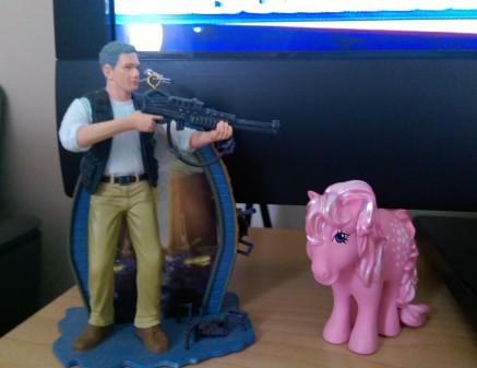 Jack O'Neill Takes Out a Pony