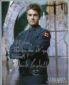 Chuck Campbell Autograph