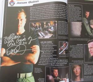 Corin Nemec Autograph