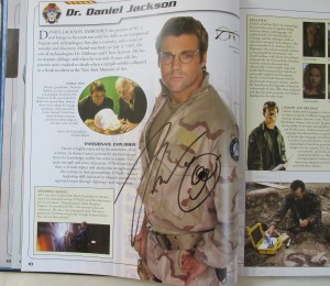 Michael Shanks Autograph