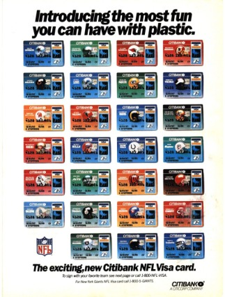 Citibank NFL Visa Card