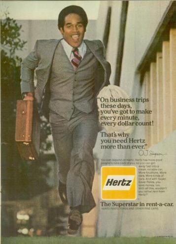 Hertz OJ Simpson