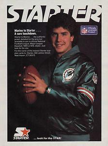 Dan Marino Starter Jacket