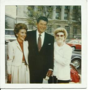 Ronald and Nancy Regan