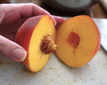 half-peach