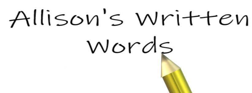 Allison's Written Words