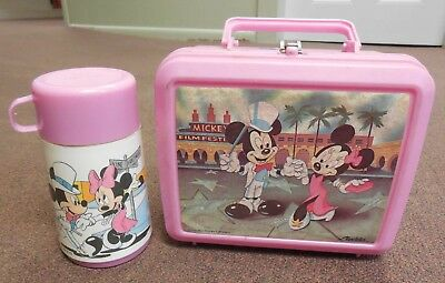 vintage-pink-minnie-mickey-mouse-lunch-box